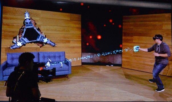 Игра Project X-Ray для HoloLens