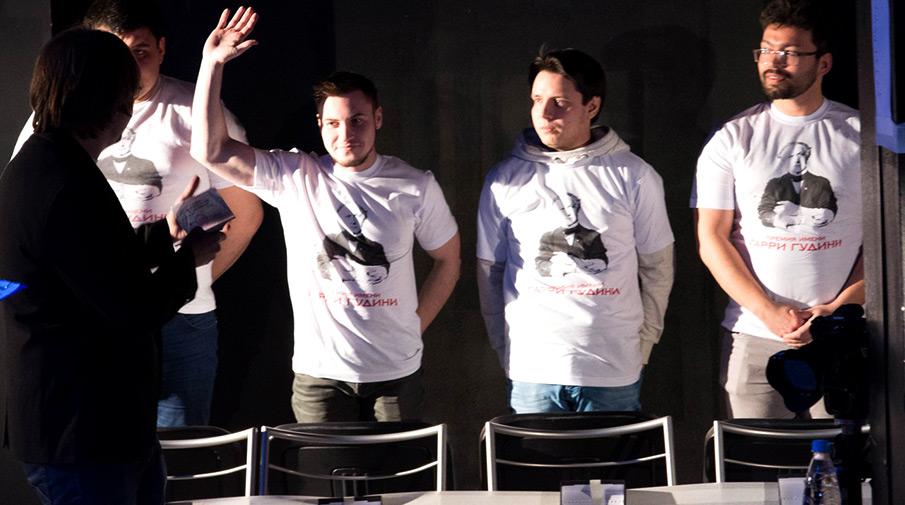 волонтеры на испытании Иоланты Вороновой