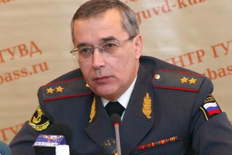 Отстранен от должности главный полицейский Кемеровской области