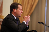 Medvedev: Under-investment in Russia is due to its bad image