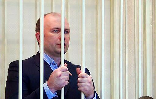 Сергей Курышев в суде