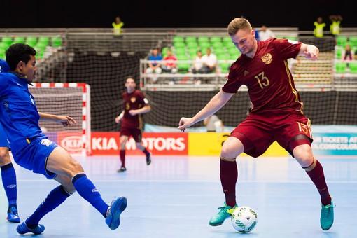 Сборная Российской Федерации разгромила команду Египта вматче чемпионата мира помини-футболу