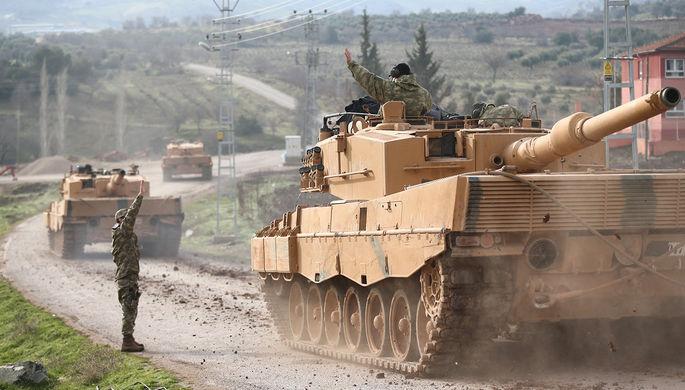 Анкара иПариж обсудили операцию вАфрине