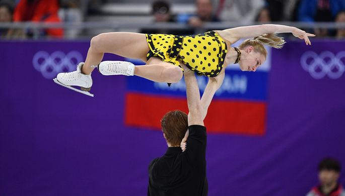 Фигуристы Тарасова иМорозов завоевали сереброЧМ всоревнованиях спортивных пар
