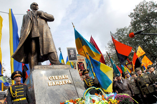 Памятник Степану Бандере открыли во Львове