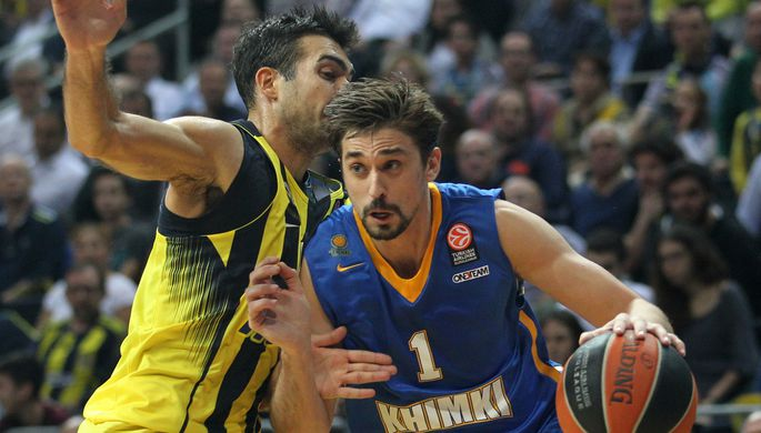 «Химки» проиграли «Фенербахче» вгостевом матче баскетбольной Евролиги