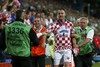 Стюарды матча задержали хорватского смельчака