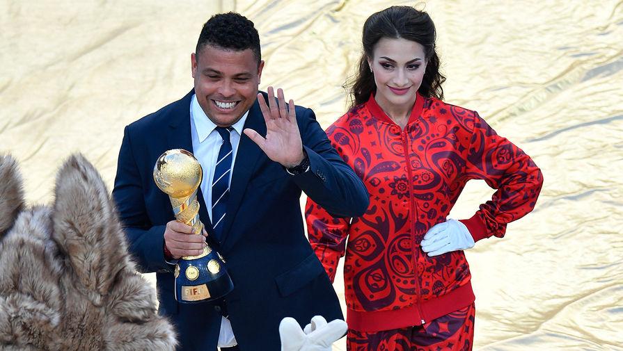Чтобы поддержать сборную Бразилии вРостов прилетел Роналдо