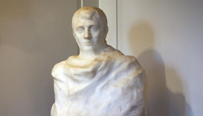 ВСША отыскали  утерянный бюст Наполеона авторства Огюста Родена