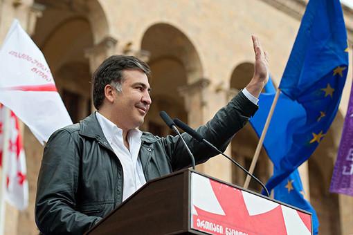 Оппозиционер Саакашвили собрал много меньше людей, чем оппозиция при его власти