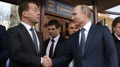 Владимир Путин поддержал единороссов второй раз за неделю