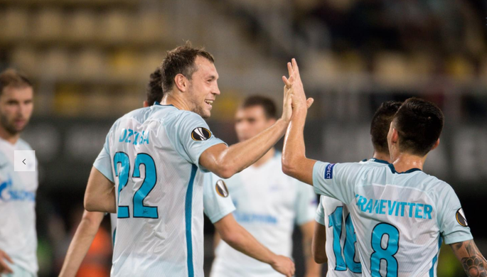 Полузащитник «Стяуа» Будеску признан игроком недели вЛиге Европы, Кокорин