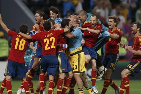 Радость испанцев