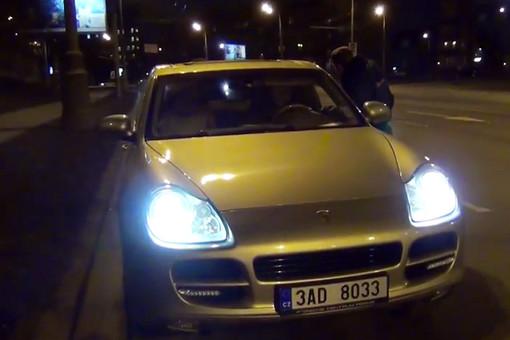 Пьяный водитель Porsche Cayenne снова за рулем