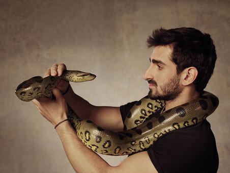 Американский натуралист позволит анаконде проглотить себя