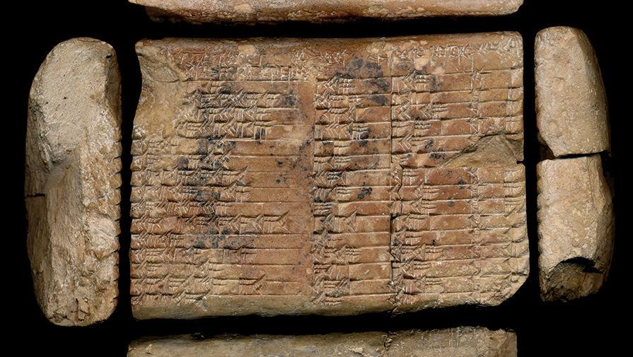 Математики разгадали тайну древней вавилонской таблички