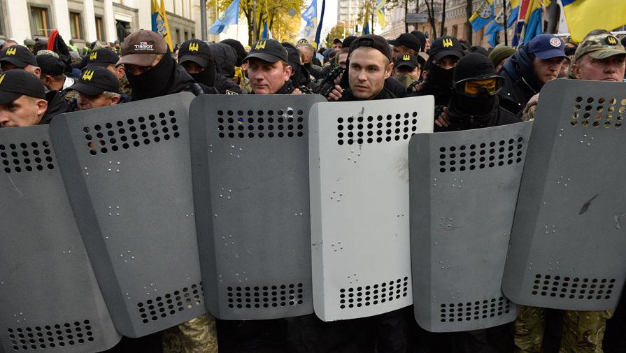 Протесты под Радой: милиция выдвинула активистам требования