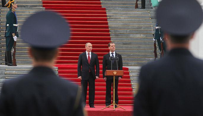 «Единая Россия» поддержит В. Путина навыборах лидера Российской Федерации