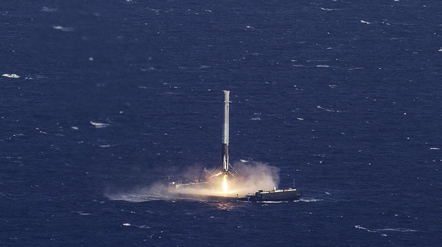 SpaceX впервый раз запустил «бывшую вупотреблении» ракету