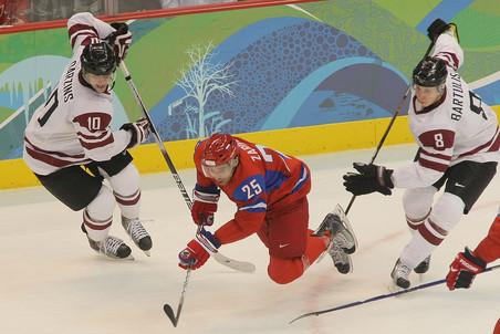 В пятницу и субботу сборная России сыграет в Риге с Латвией