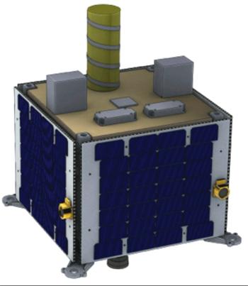 Так будет выглядеть один из будущих спутников компании Михаила Кокорича