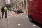 Взрыв в центре Праги