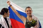 Аделина Сотникова принесла России золото в 13-й день Олимпиады в Сочи