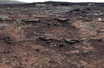 На Марсе найдено озеро, в котором в прошлом могла существовать жизнь