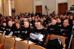 В Харькове депутаты пришли на заседание в футболках «Беркут»
