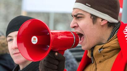 Петр Бизюков о резком росте протестных акций в стране