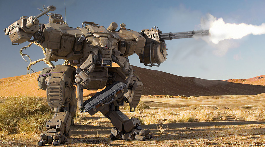 Боевых роботов берут в армию России