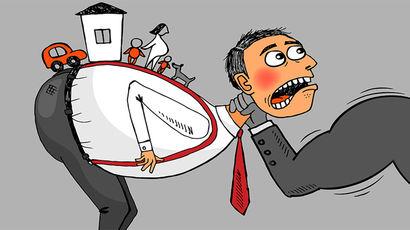 В России 40 млн должников: в состоянии обслуживать кредиты только 8 млн человек