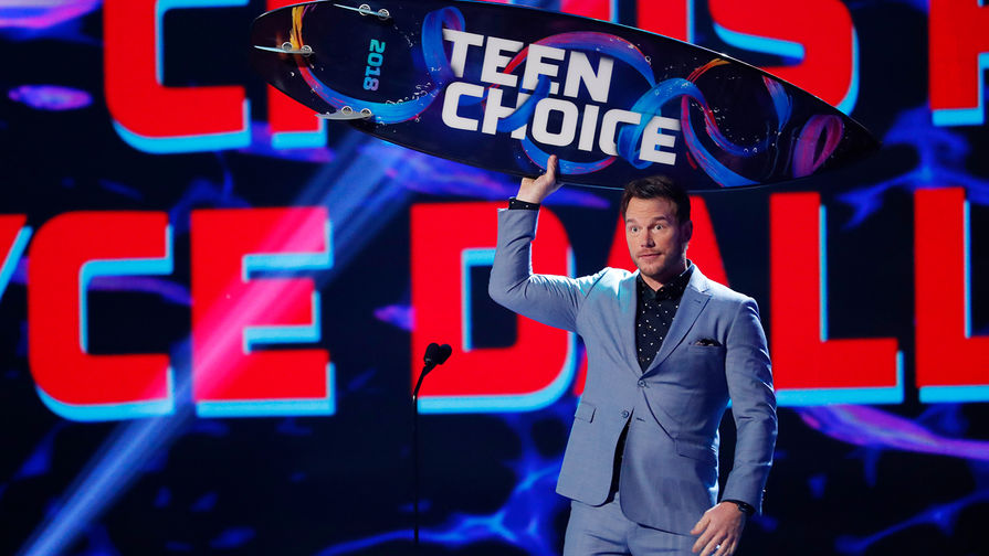 Роберт Дауни— младший получил молодёжную награду Teen Choice Awards