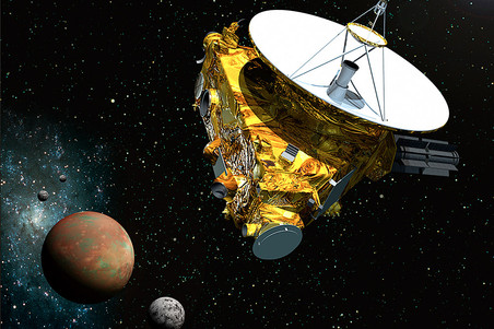 ���� New Horizons, ������������ � �������, ���������, ������������� � ����