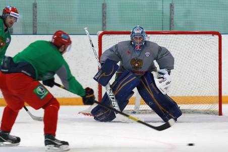 Роман Людучин и Сергей Широков о предстоящих матчах Европейского хоккейного вызова