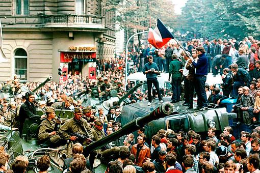 Прага. 1968 год