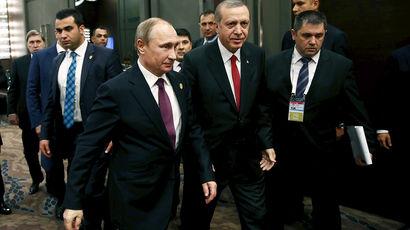 Владимир Путин призывает к созданию коалиции в борьбе с ИГИЛ
