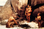 Neanderthals and modern humans denisovtsy tens of thousands years ago, met, talked and left offspring