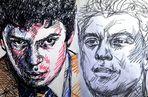 Московская художница нарисовала 83 портрета Немцова в знак протеста