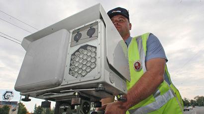 За 2015 год россияне получили 50 млн штрафов с дорожных камер