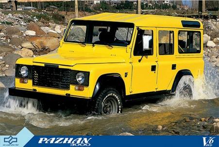 Pazhan V6 (клон Land Rover Defender 110)