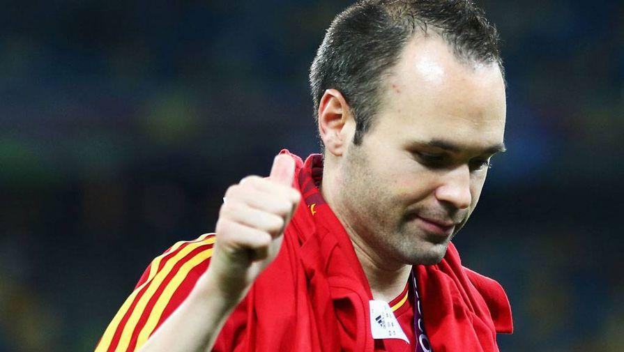 Китайский клуб предложил Иньесте договор на эвро 81 млн затри года