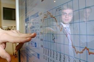 снижение российских индексов