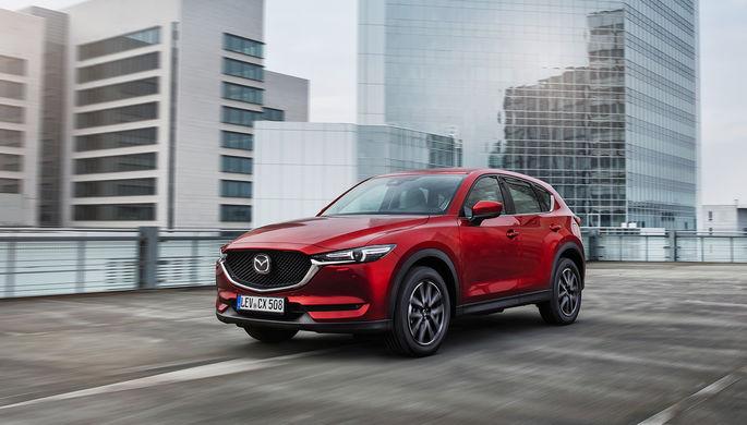 Стали известны российские цены нановую Mazda CX-5