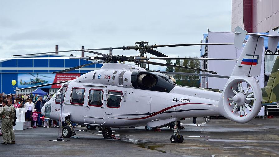 Появилось видео первого полноценного полёта нового вертолёта Ка-62