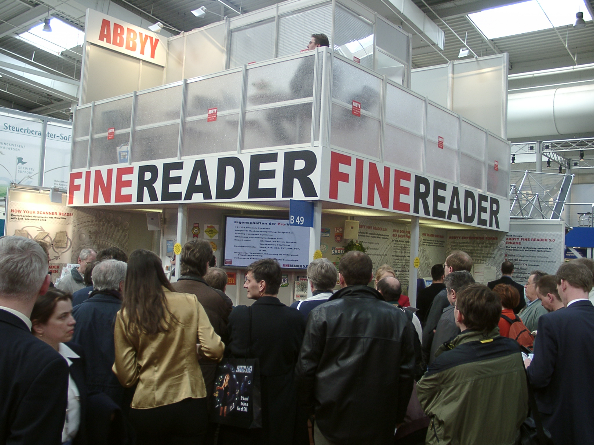 CeBIT - 2001. ����� ABBYY FineReader