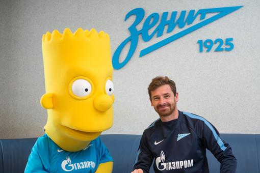 Барт Симпсон стал футболистом «Зенита»