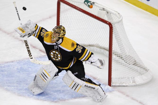 «Бостон» обыграл «Баффало», Худобин провел 1-ый сухой матч всезоне