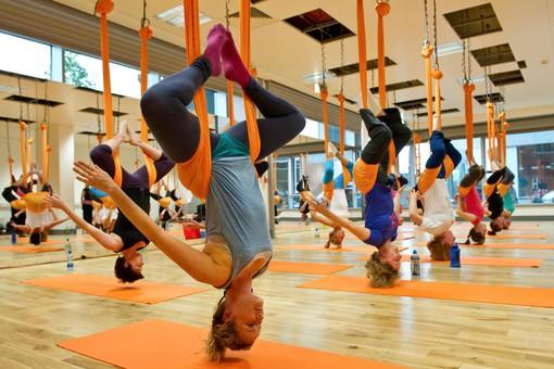 Новый вид фитнеса — гимнастические залы и батутные центры