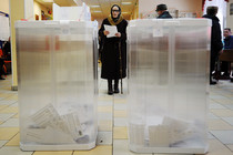 The polls are open in Moscow